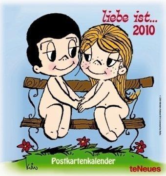 9783832740016: Liebe ist... 2010. Postkartenkalender
