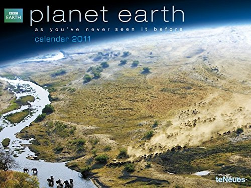 9783832741549: 2011 BBC Planet Earth Poster Calendar