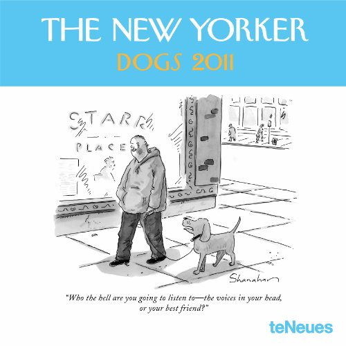 9783832741945: 2011 The New Yorker Dogs Wall Calendar