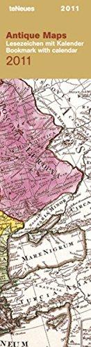 2011 Antique Maps Bookmark Calendar: teNeues