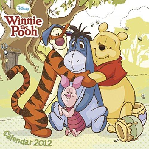 9783832748692: 2012 Winnie the Pooh Grid Calendar