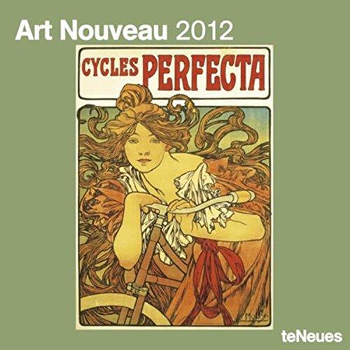 9783832750008: 2012 Art Nouveau Wall Calendar (English, German, French, Italian, Spanish and Dutch Edition)