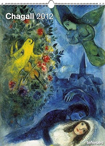 9783832750350: 2012 Marc Chagall Super Poster Calendar