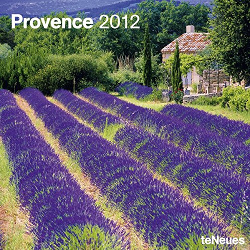 9783832750879: 2012 Provence Wall Calendar (English, German, French, Italian, Spanish and Dutch Edition)