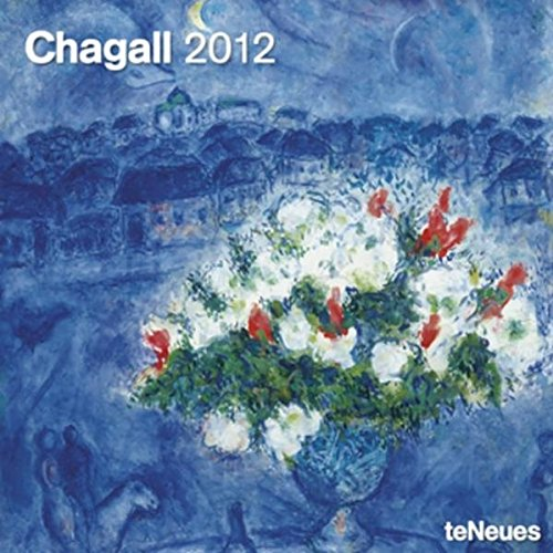 9783832751463: 2012 Marc Chagall Wall Calendar (English, German, French, Italian, Spanish and Dutch Edition)