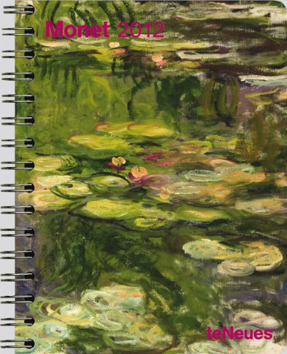 9783832751531: 2012 Monet Deluxe Engagement Calendar (English, German, French, Italian, Spanish and Dutch Edition)