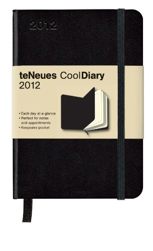 9783832752569: Cool Diary Tageskalender Black/Black 2012, daily Small