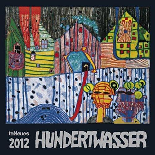 9783832752637: 2012 Friedenreich Hundertwasser Art Wall Calendar (English, German, French, Italian, Spanish and Dutch Edition)