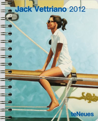 9783832752798: 2012 Vettriano Deluxe Engagement Calendar (English, German, French, Italian, Spanish and Dutch Edition)