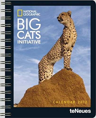 9783832753696: 2012 National Geographic Big Cats Deluxe Diary