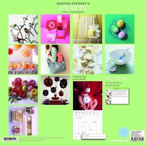 9783832754372: 2012 Martha Stewart's Crafts Grid Calendar