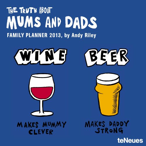 9783832756260: 2013 The Truth About Mums and Dads Family Planner