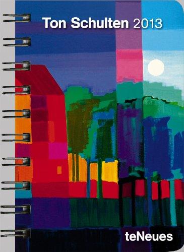 9783832757014: Ton Schulten 2013 Taschenkalender Deluxe