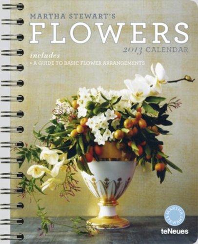 9783832757694: 2013 Martha Stewart's Flowers Deluxe Engagement Calendar