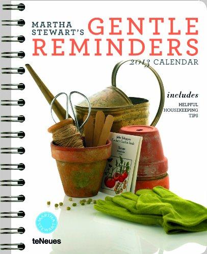 9783832757700: 2013 Martha Stewart Gentle Reminders Deluxe Diary