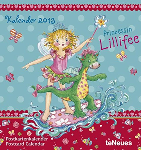 9783832757960: Prinzessin Lillifee 2013. Postkartenkalender