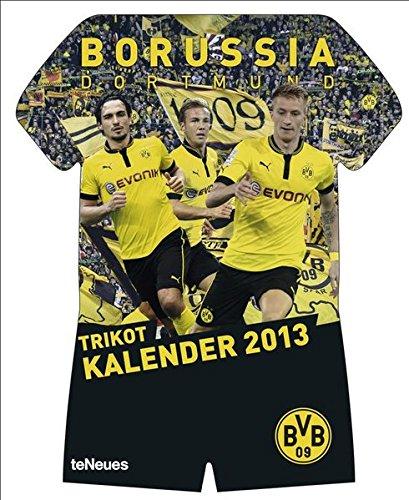 9783832758967: Borussia Dortmund Trikotkalender 2013