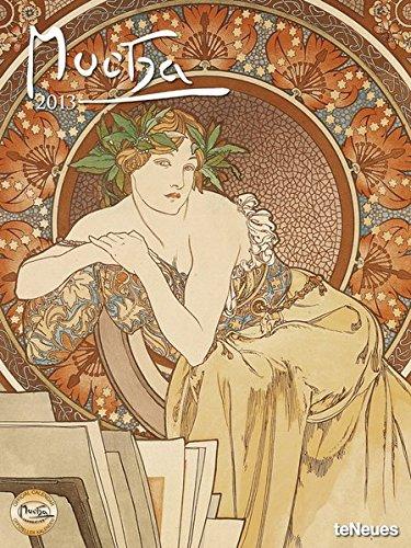2013 Alphonse Mucha Super Poster Calendar (Vertical): teNeues