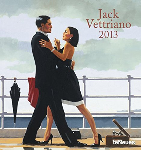 9783832759735: 2013 Jack Vettriano Poster Calendar