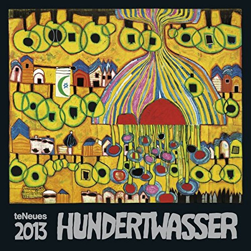 9783832760038: 2013 Friedensreich Hundertwasser Wall Calendar