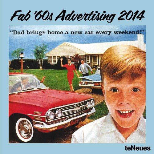 9783832762018: 2014 Fab 60's Advertising Calendar