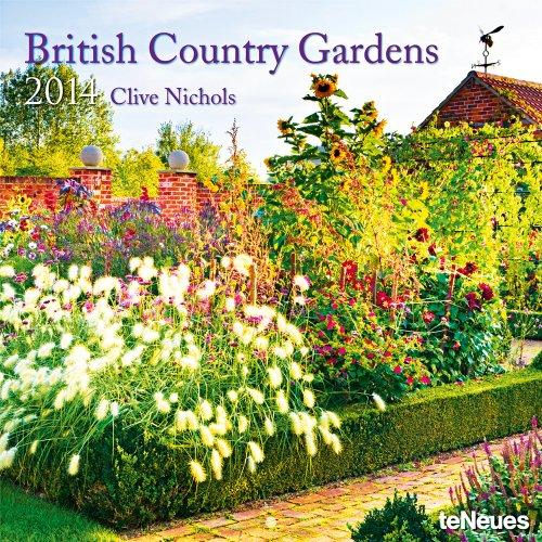 9783832762957: 2014 British Country Gardens Wall Calendar