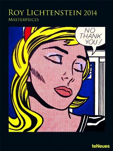 9783832764111: 2014 Roy Lichtenstein Super Poster Calendar (Vertical)