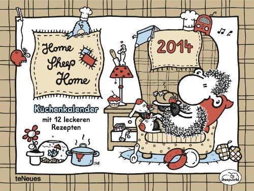 9783832764609: Der sheepworld Küchenkalender 2014