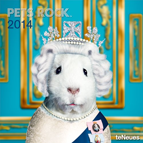 9783832765316: 2014 Pets Rock Wall Calendar