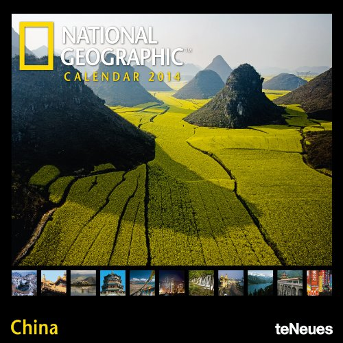 9783832766924: National Geographic Calendar China 2014 Broschürenkalender