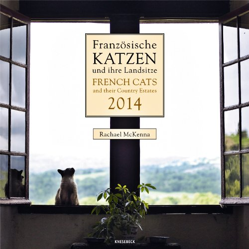 9783832767600: 2014 Knesebeck French Cats Wall Calendar