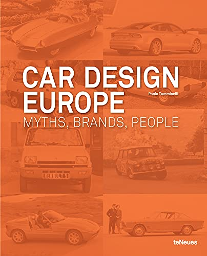 9783832794590: Car Design Europe: Myths, Brands, People (English, German and French Edition)