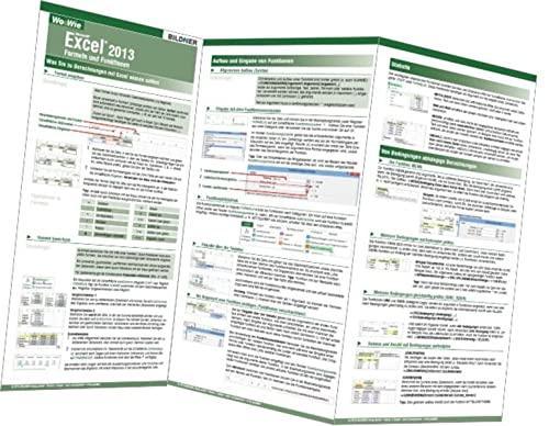 9783832800734: Wo&Wie: Excel 2013 - Formeln und Funktionen