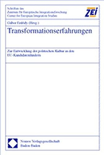 Transformationserfahrungen: Gabor Erd�dy