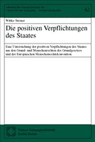 Die positiven Verpflichtungen des Staates: Wibke Streuer