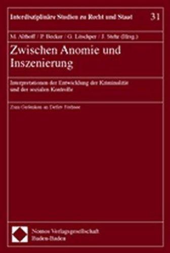 Zwischen Anomie und Inszenierung: Martina Althoff