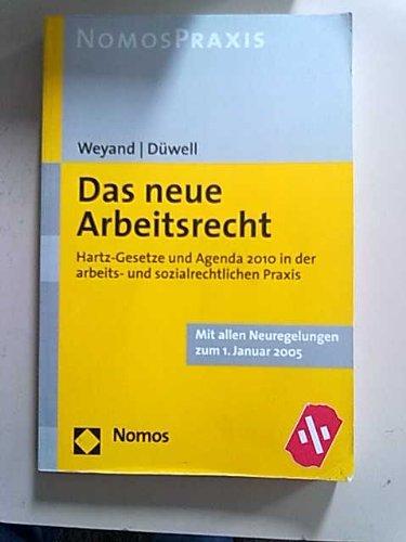 9783832905859: Das neue Arbeitsrecht.