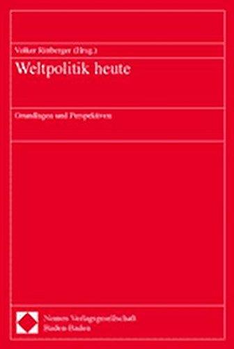 Weltpolitik heute: Volker Rittberger