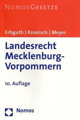Landesrecht Mecklenburg-Vorpommern 2004 (3832908269) by Misulis, Karl E.