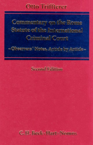 9783832909277: Commentary on the Rome Statute of the International Criminal Court