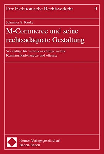 M-Commerce und seine rechtsadäquate Gestaltung