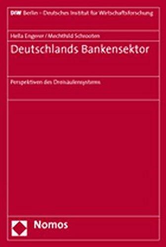 9783832912598: Deutschlands Bankensektor: Perspektiven des Dreisäulensystems