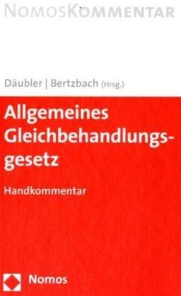 9783832913847: Allgemeines Gleichbehandlungsgesetz. Handkommentar