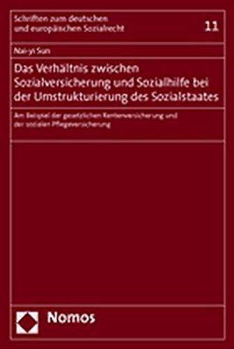Das Verhältnis zwischen Sozialversicherung und Sozialhilfe bei der Umstrukturierung des ...