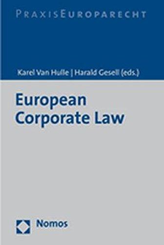 European Corporate Law: Nomos Verlagsgesellschaft
