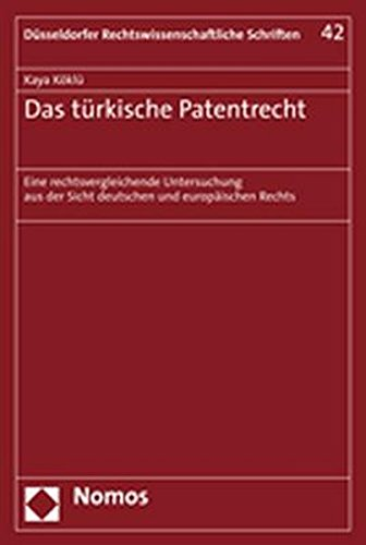 Das türkische Patentrecht