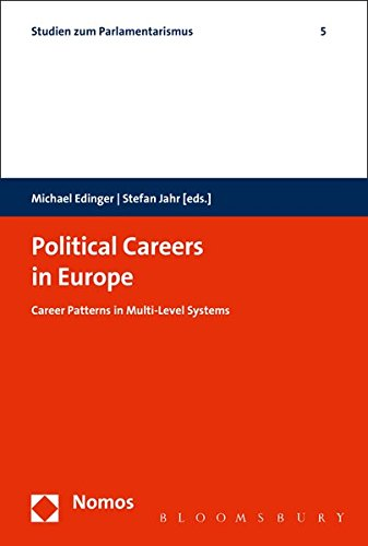 9783832923211: Political Careers in Europe: Career Patterns in Multi-level Systems (Studies About Parliamentarism)