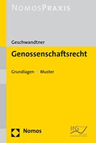 Genossenschaftsrecht: Marcus Geschwandtner