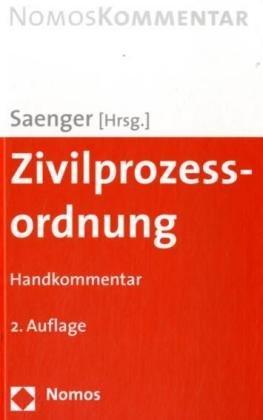 9783832925970: Zivilprozessordnung - ZPO