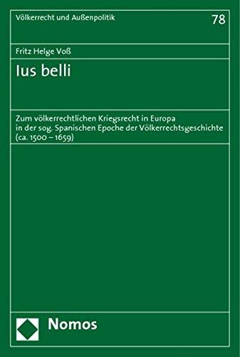 Ius belli: Fritz Helge Voß